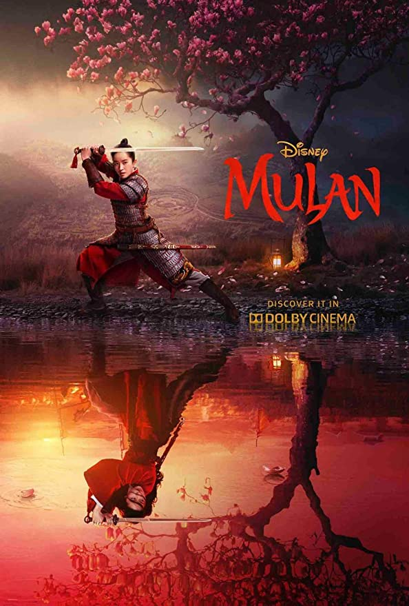 Atury Mulan Movie Poster 2020,Movie Teaser Poster,Artwork Wall Decor Print Poster 24x36 inch Ready to Paste